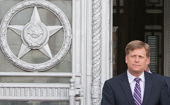 Бывший посол США в России Майкл Макфол