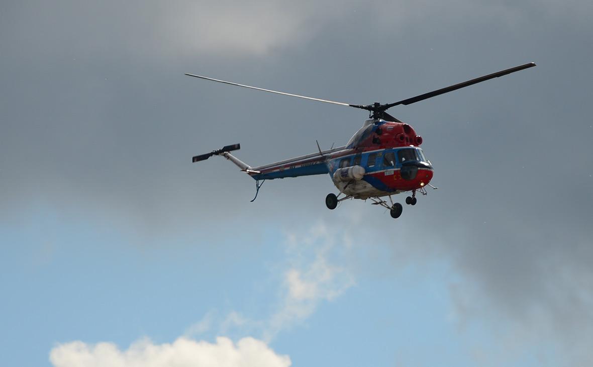 Вертолет Ми-2, архив