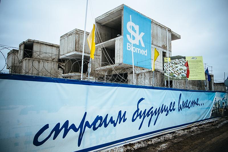 Жилые дома в «Сколково» возводила компания «СКМ Инжиниринг», но покинула стройплощадку, не завершив работы
