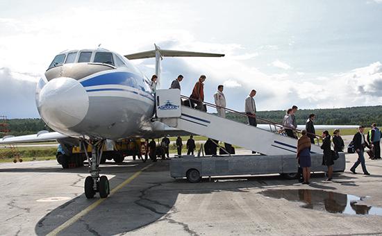 Аэропорт Емельяновов Красноярске