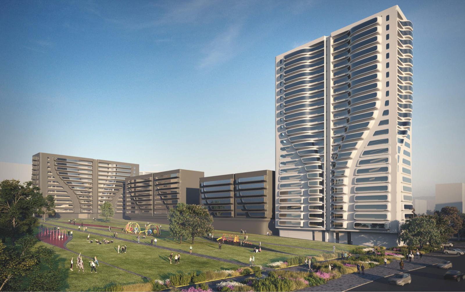 Фото:Архитекторы Заха Хадид + А-Проект.К