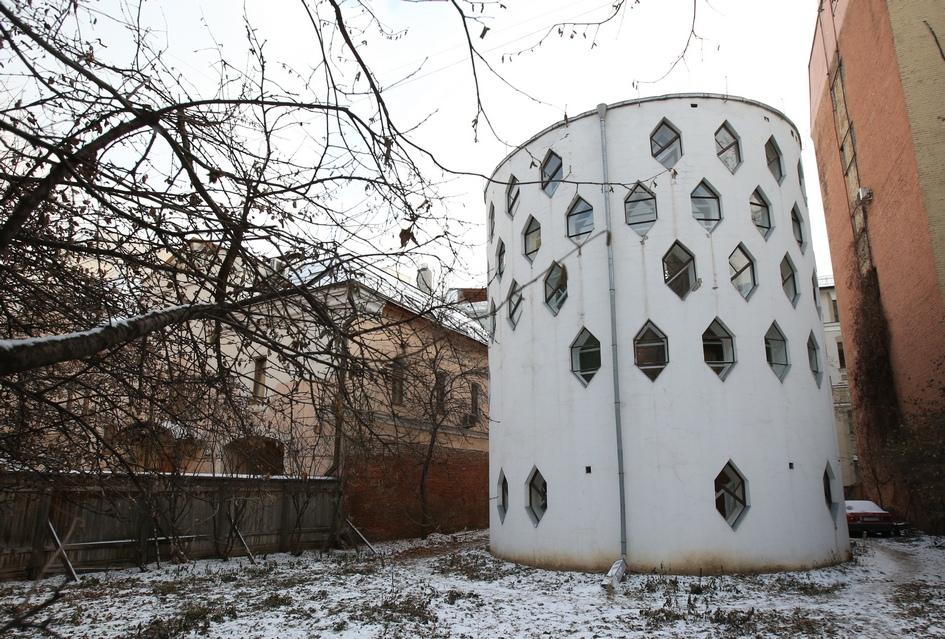 Дом архитектора Константина Мельникова в Кривоарбатском переулке