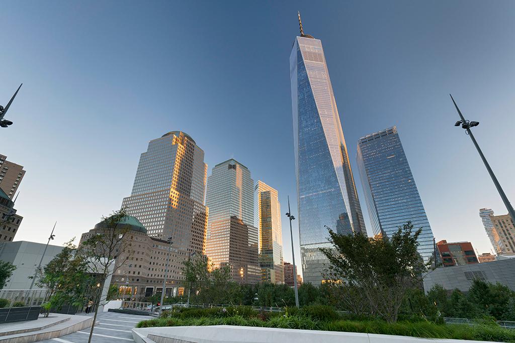 № 6. Центр международной торговли 1 (One World Trade Center)   Высота:541,3м, 94 этажа Место: Нью-Йорк, США Назначение: отель иофисы Архитектура: Skidmore, Owings & Merrill LLP (SOM) Дата строительства: 2008 год