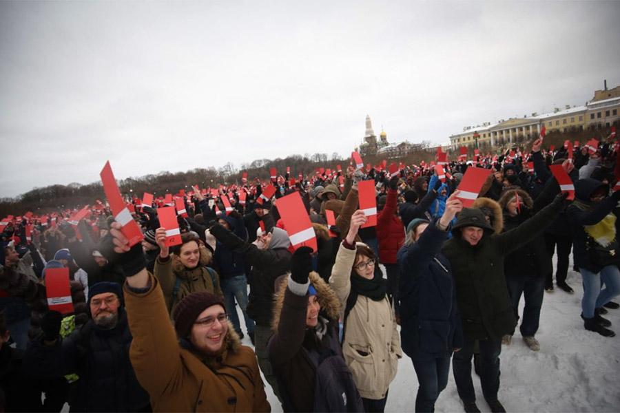 Фото:Штаб Навального в Санкт-Петербурге