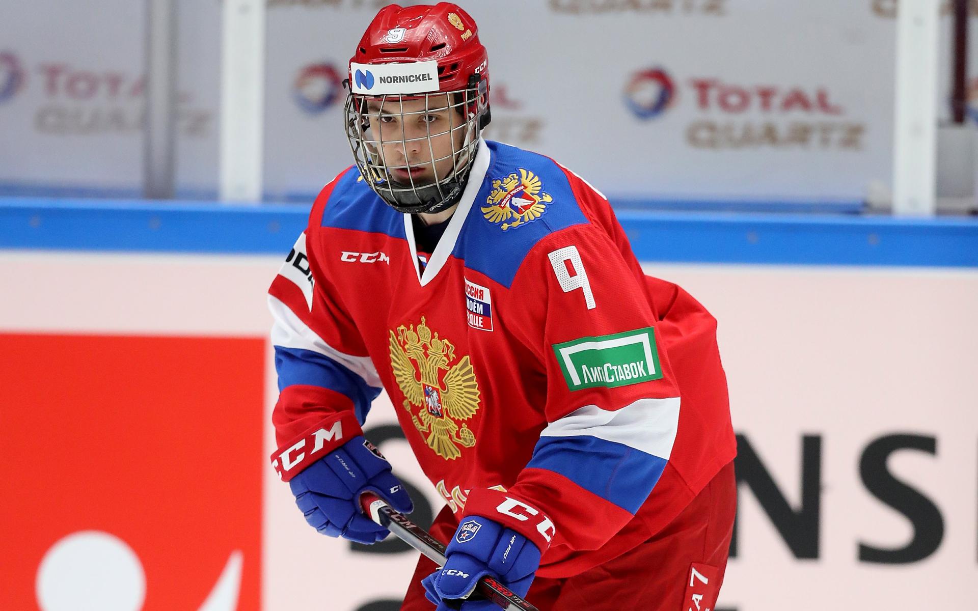 Дебютант сборной России по хоккею Никита Чибриков