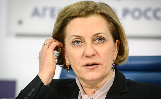 Руководитель Роспотребнадзора иглавный санитарный врач РФ Анна Попова