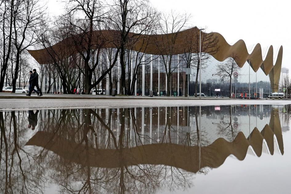Вид на Дворец гимнастики Ирины Винер-Усмановой
