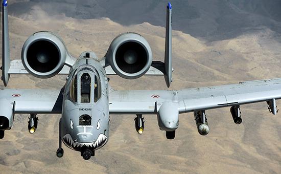 Штурмовик ВВС США А-10