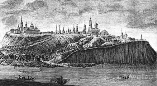 Первый «префаб-град»Свияжск