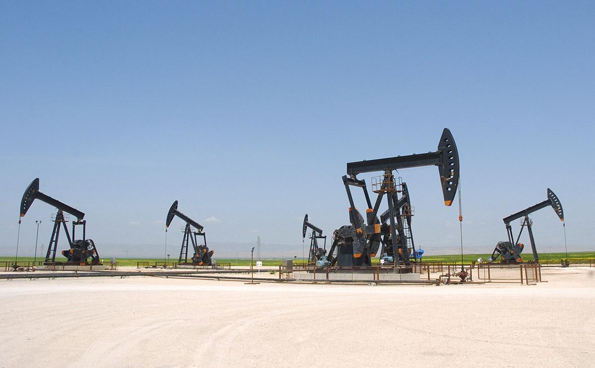 Месторождение нефти в Сирии