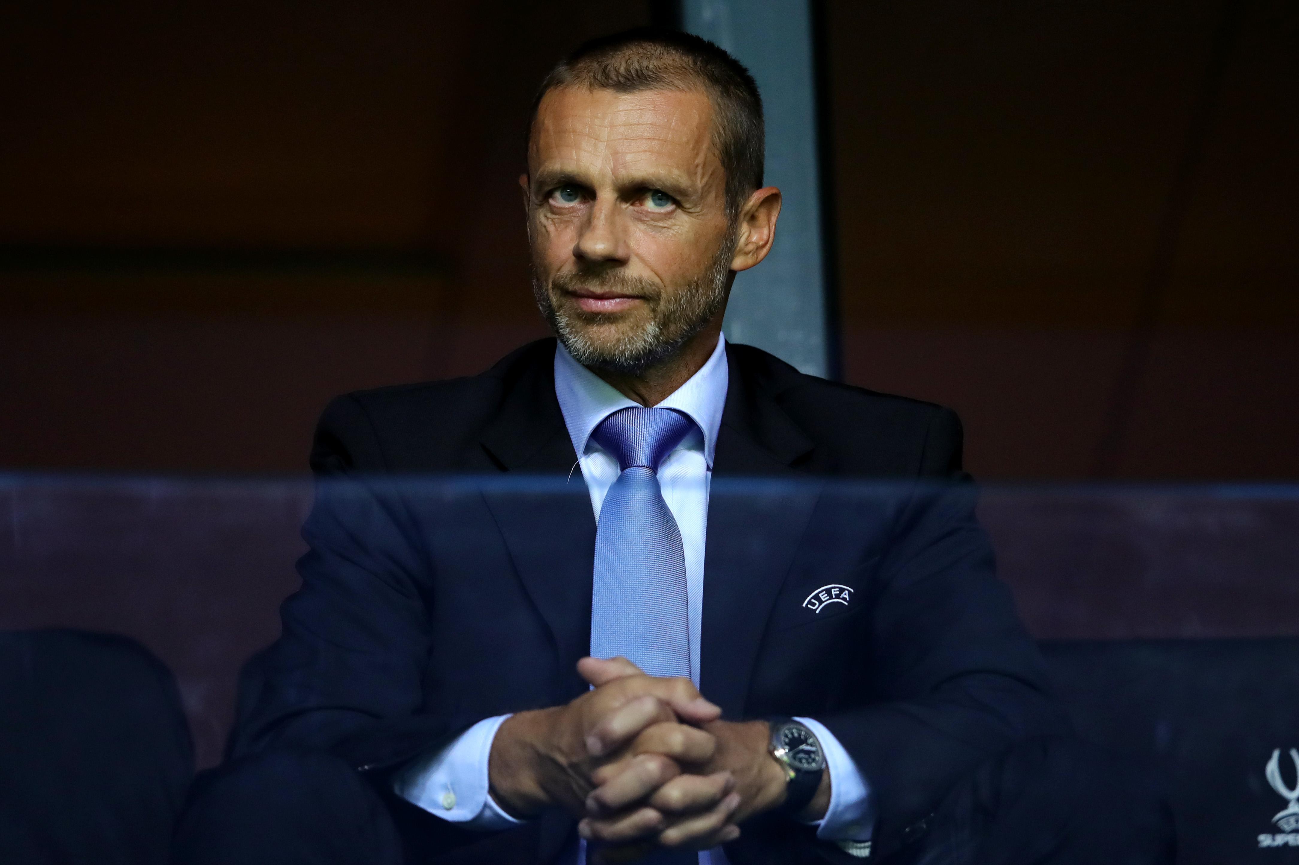 Президент УЕФА Александр Чеферин