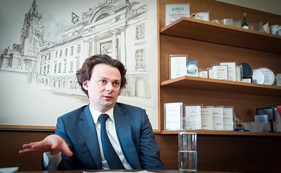 Председатель правления Райффайзенбанка Сергей Монин