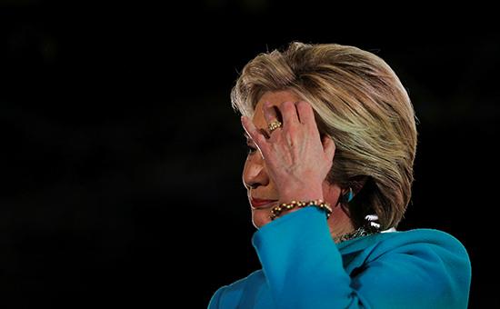 Кандидат впрезиденты США Хиллари Клинтон