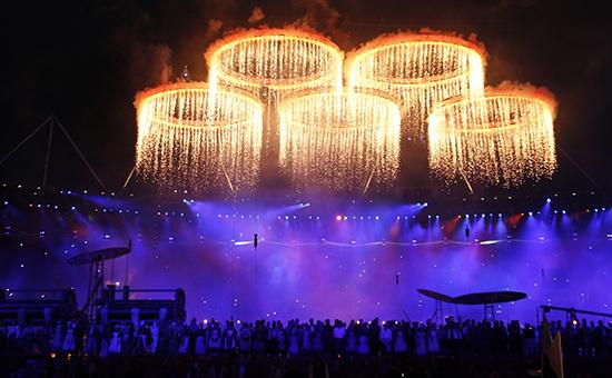 Открытие летней Олимпиады 2012 года в Лондоне