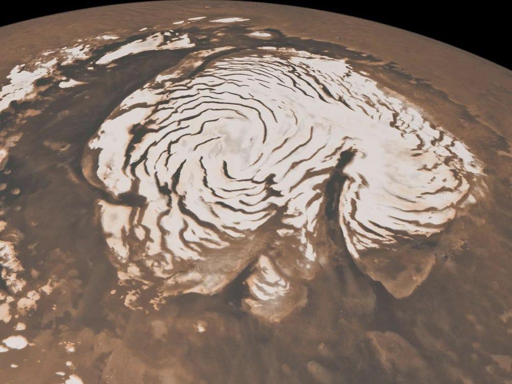 Полярная шапка Марса