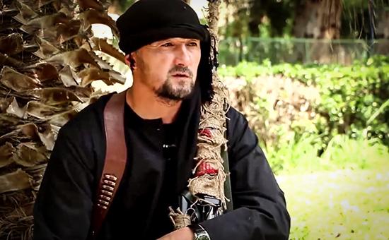 Командир ОМОНа МВД Таджикистана Гулмурод Халимов