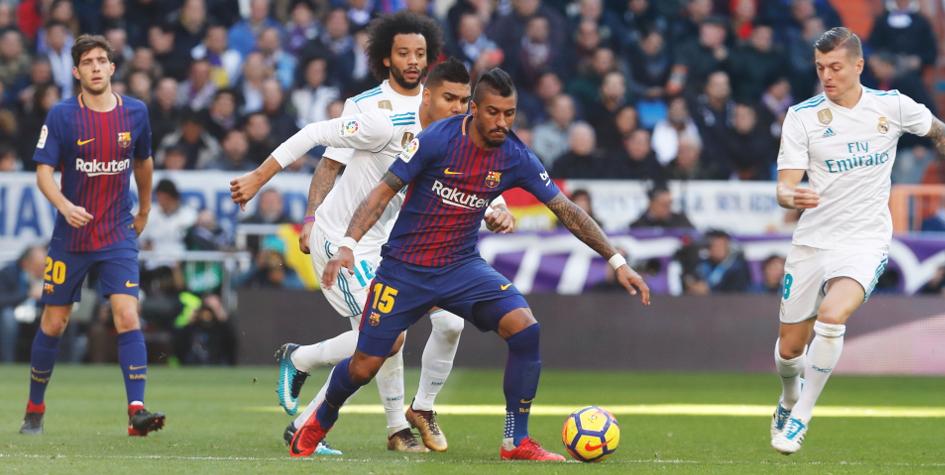 Футбол испанская лига реал