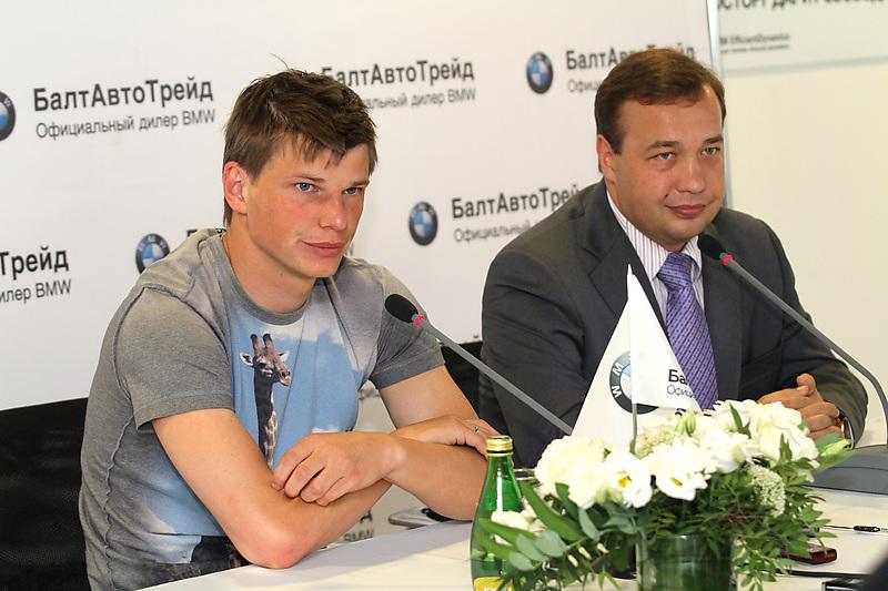 Андрей Аршавин и Петр Тиньгаев