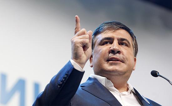 Губернатор Одесской области УкраиныМихаил Саакашвили