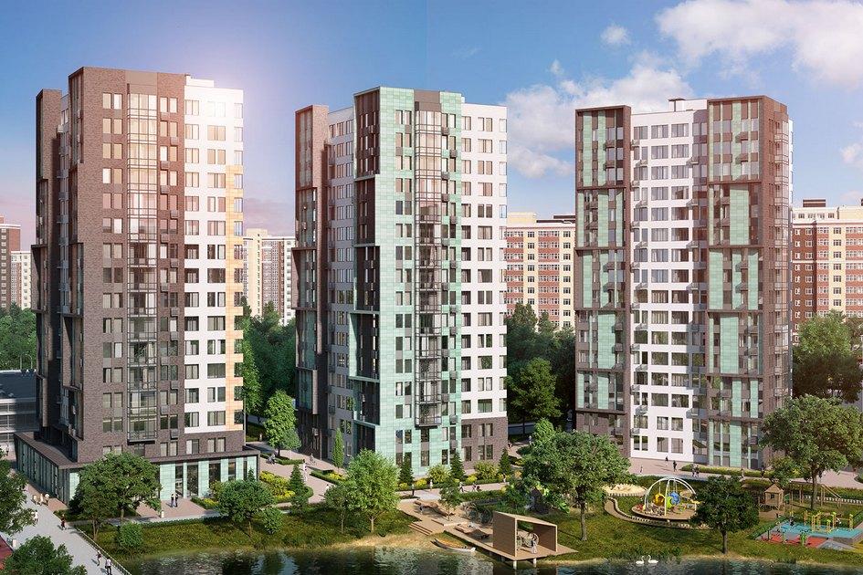 Жилой комплекс в скандинавском стиле  Масштабный проект площадью 350 тыс. кв. м построят в Коммунарке. Жилой комплекс «Скандинавия» из 19 многоэтажек будет отличаться яркой архитектурой в стиле Северной Европы