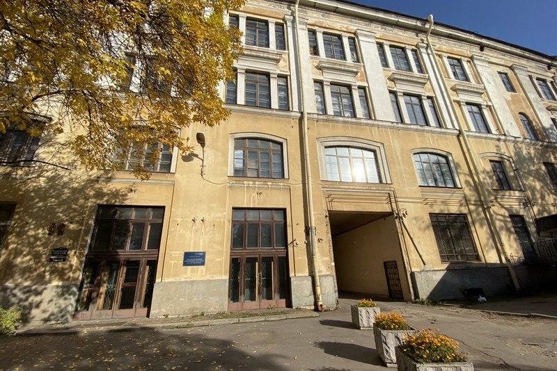 Здание Института оптики им. Вавилова