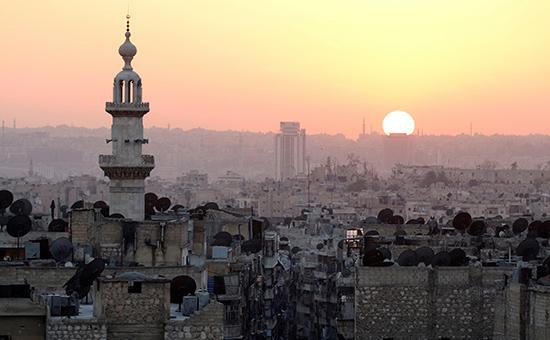 Закат над Алеппо