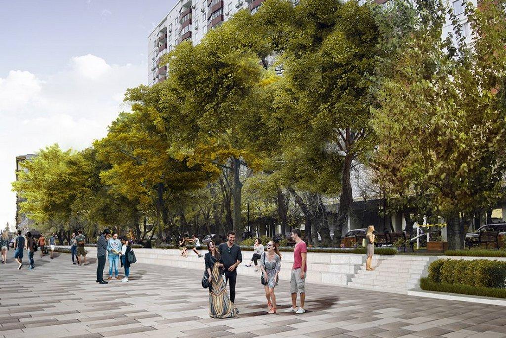 Проект благоустройства Смоленского бульвара