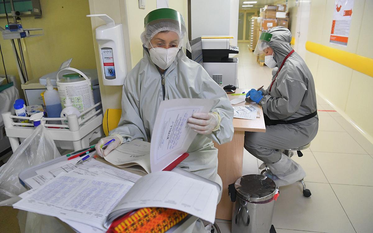 В Москве обнаружили свыше 5 тыс. новых случаев коронавируса