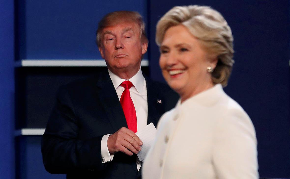 Дональд Трамп и ХиллариКлинтон