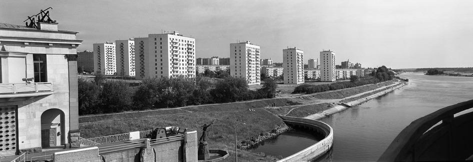 Вид на микрорайон Щукино. 1968 год