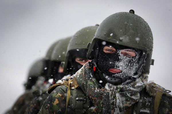 Учения антитеррористических подразделений МВД