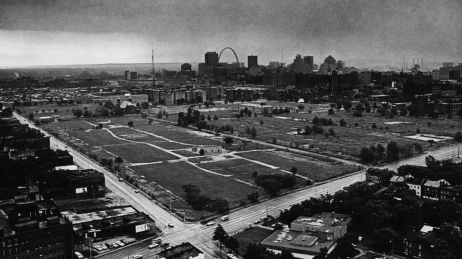 Снос был завершен в 1974 году