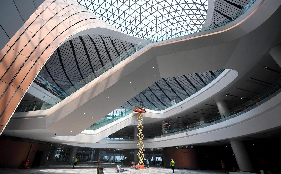 Строительство аэропорта Дасин