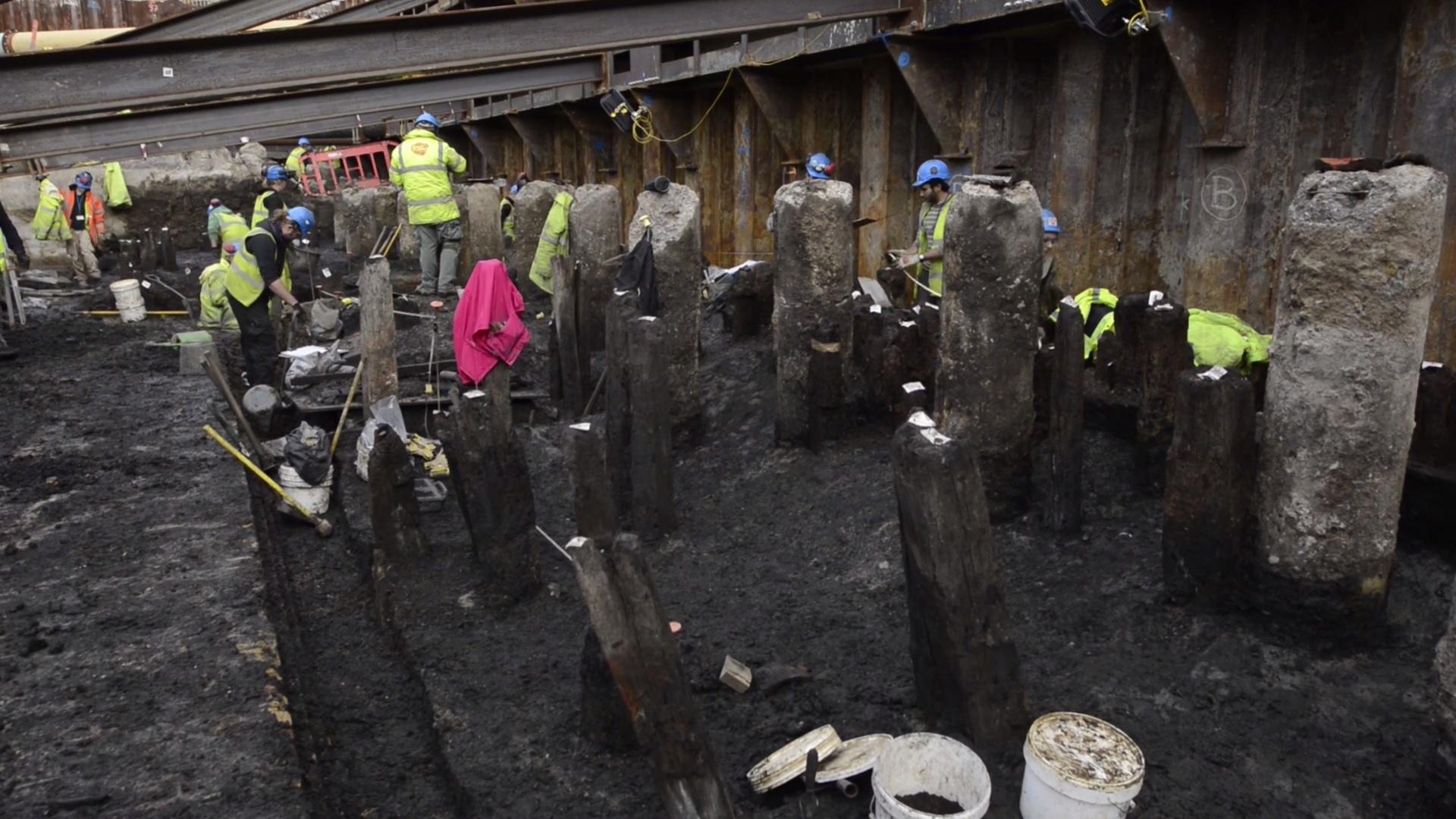При строительстве нового офиса были обнаружены останки древних строений периода римской оккупации Британии