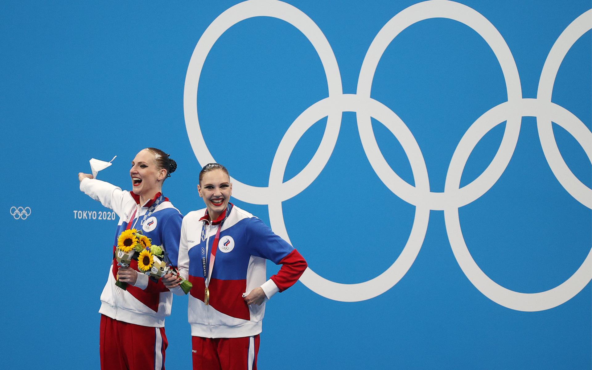Фото: Светлана Ромашина и Светлана Колесниченко (Сергей Бобылев/ТАСС)