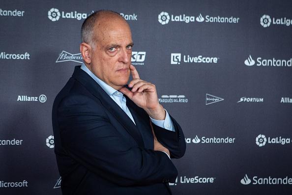 Президент Ла Лиги Хавьер Тебас