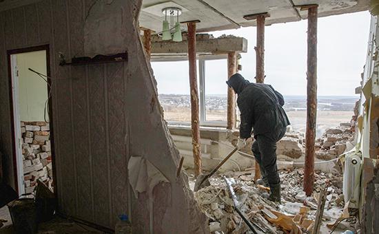 Ситуация в Донецкой области Архивное фото