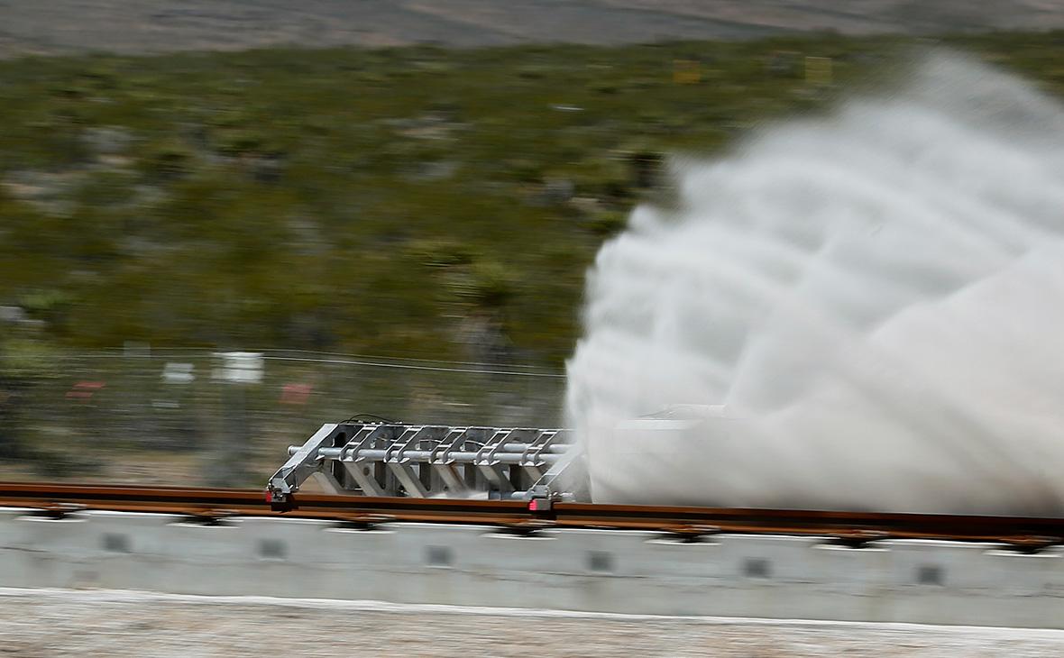 Испытания силовой установки Hyperloop One