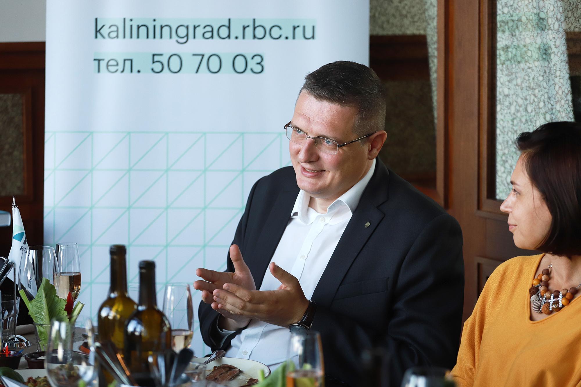 Фото:Заместитель генерального директора компании «Spar-Калининград» Алексей Елаев