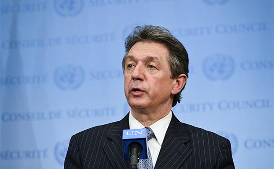 Постоянный представитель Украины вООН Юрий Сергеев