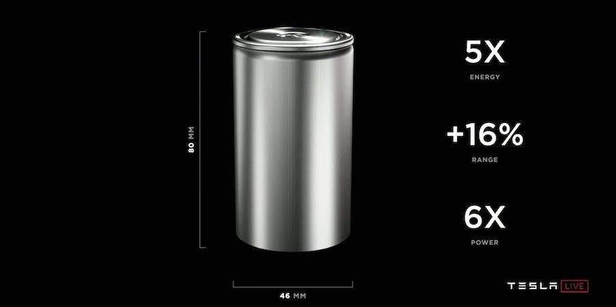 Новая батарея Tesla
