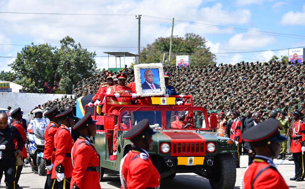 Фото:Tanzanian State House / XinHua / Global Look Press
