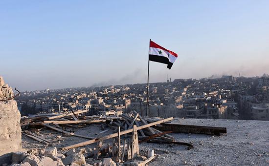 В окрестностях Алеппо, Сирия