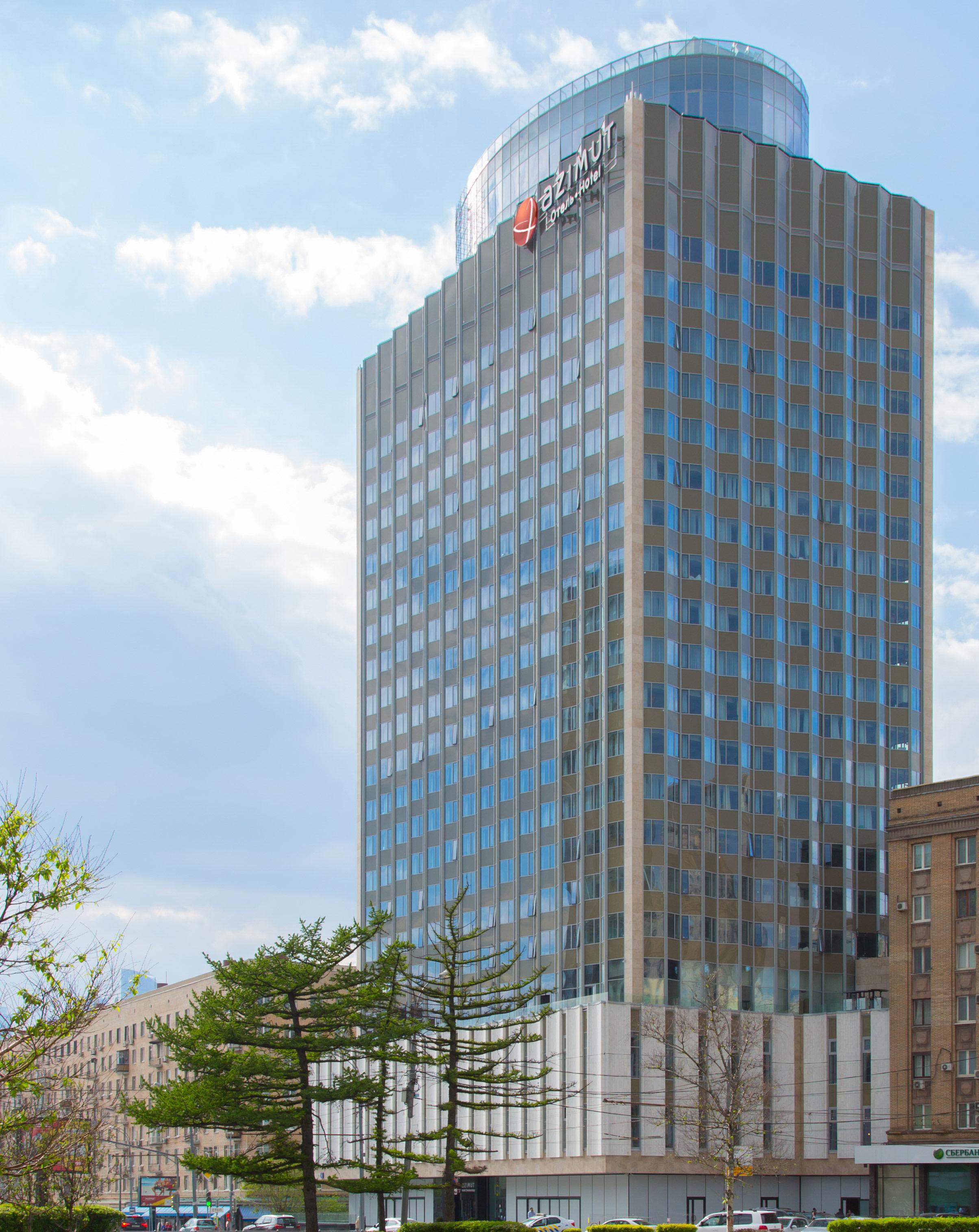 Бывший отель «Белград» наСмоленской площади послереконструкции