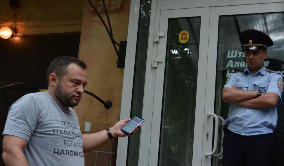 Сергей Бойко (слева)