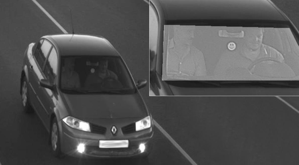 <p>При обработке фотоснимка происходит подсветка областей, где находятся водитель и пассажир. Таким образом даже полученные в темное время суток кадры можно оптимизировать и увидеть, где находятся ремни безопасности.</p>