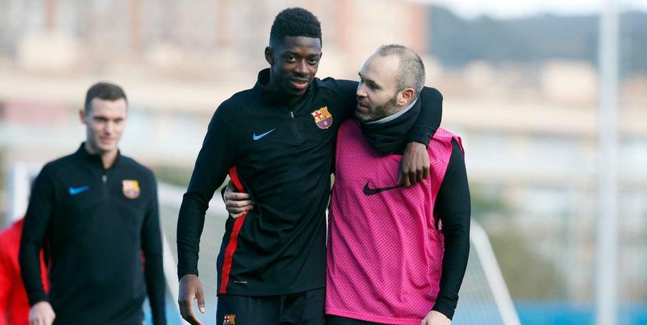 «Барселона» на месяц потеряла нападающего из-за травмы