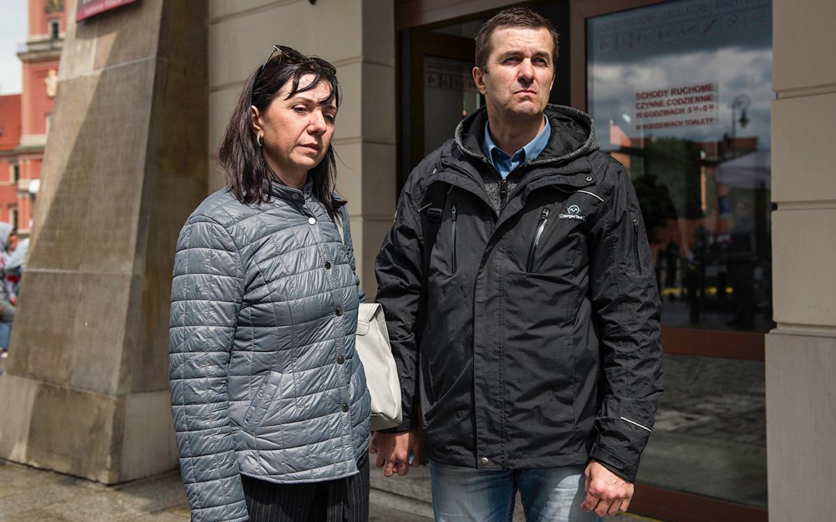 Наталья и Дмитрий Протасевич