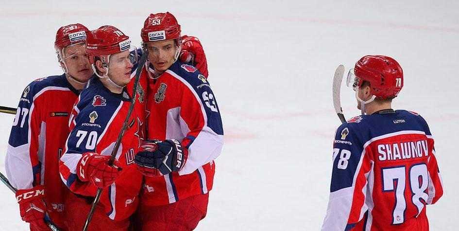 СКА и ЦСКА увеличили отрыв в четвертьфинальных сериях Кубка Гагарина