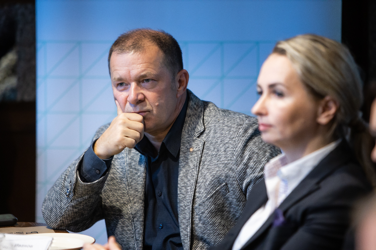 Фото:Президент Балтийского делового клуба и генеральный директор «Натурово» Александр Иванов